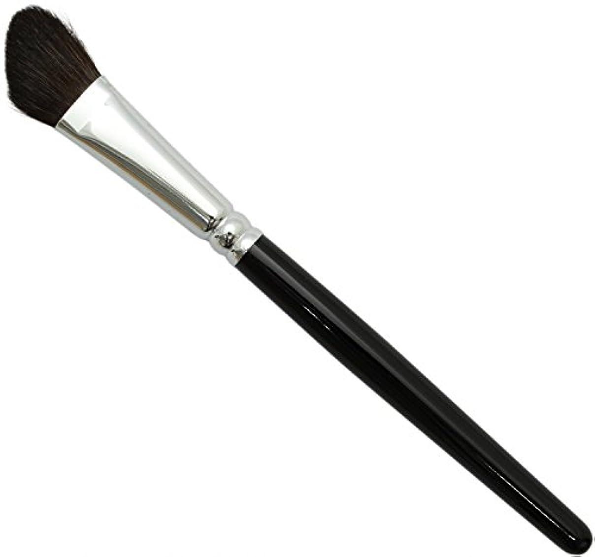 嵐不可能なひどい熊野筆 メイクブラシ SRシリーズ シャドウブラシ 大 馬毛