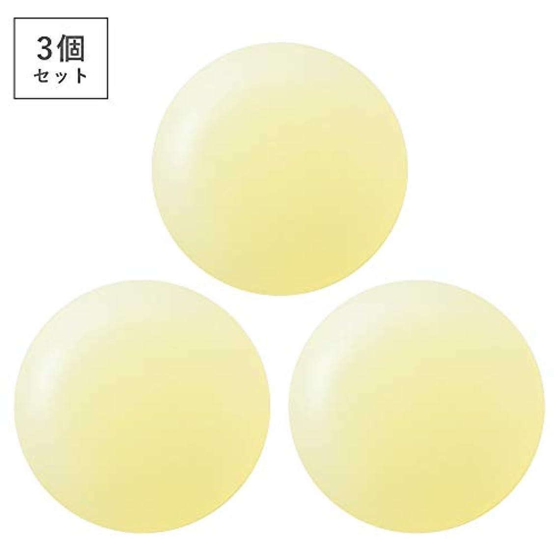 アイザックタンパク質周辺【3個セット】ミョウバン柿渋石鹸(ナチュラルクリアソープ) (03個)