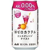 アサヒ ダブルゼロカクテル カシスオレンジテイスト(ノンアルコール) 350ML 1缶 / アサヒビール株式会社