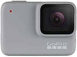 GoPro HERO7 White, Waterproof Digital Action Camera with Touch Screen 1440p HD Video 10MP Photos