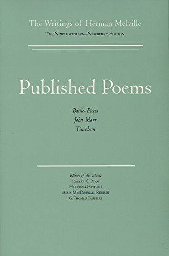 Published Poems: The Writings of Herman Melville
