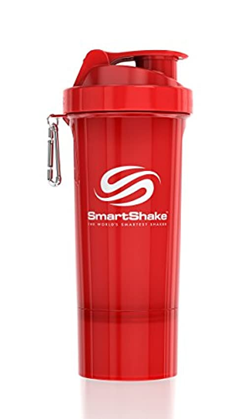 対処する上級永久SmartShake Slim(スマートシェイク スリム)RED 500ml プロテインシェイカー