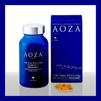 AOZA - アオザ300粒 2個セット ドクタースマイル オメガ3(DHA・EPA・コエンザイムQ10)含有サプリメント