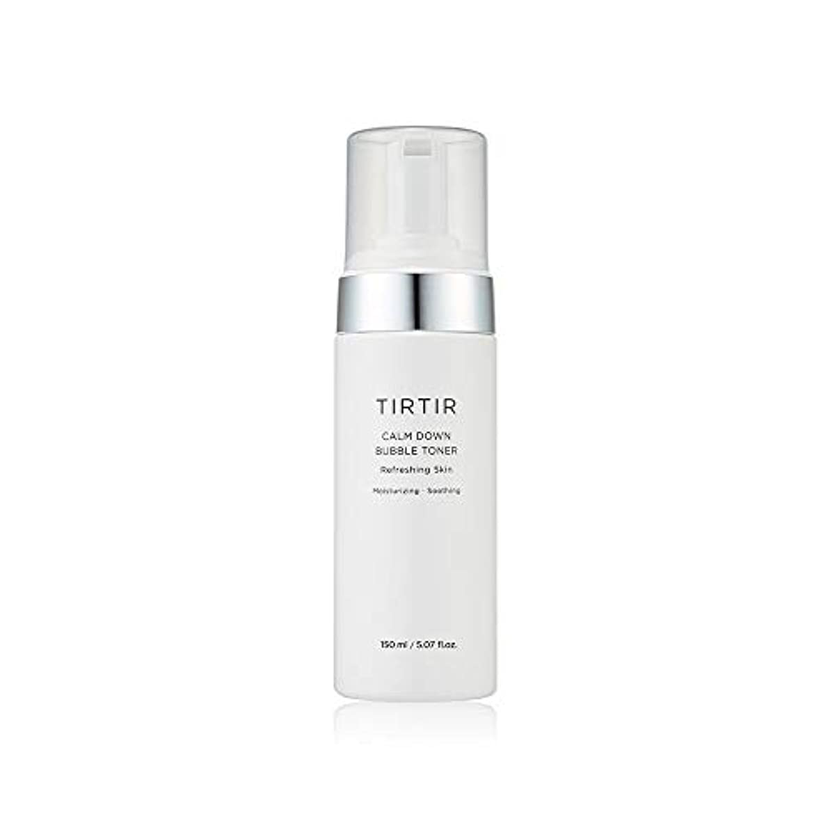 吸収最初は水[TIR TIR/ティルティル] 真正バブルトナー 150ml / CALM DOWN BUBBLE TONER Refreshing Skin Moisturizing/soothing 5.07 fl. oz. [並行輸入品]