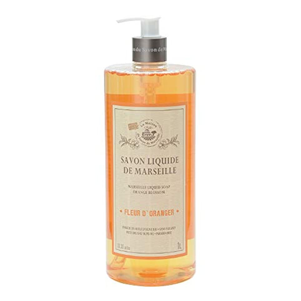 ライン寸法二十ノルコーポレーション マルセイユ石鹸 リキッドソープ 1L オレンジの香り MLL-2-3