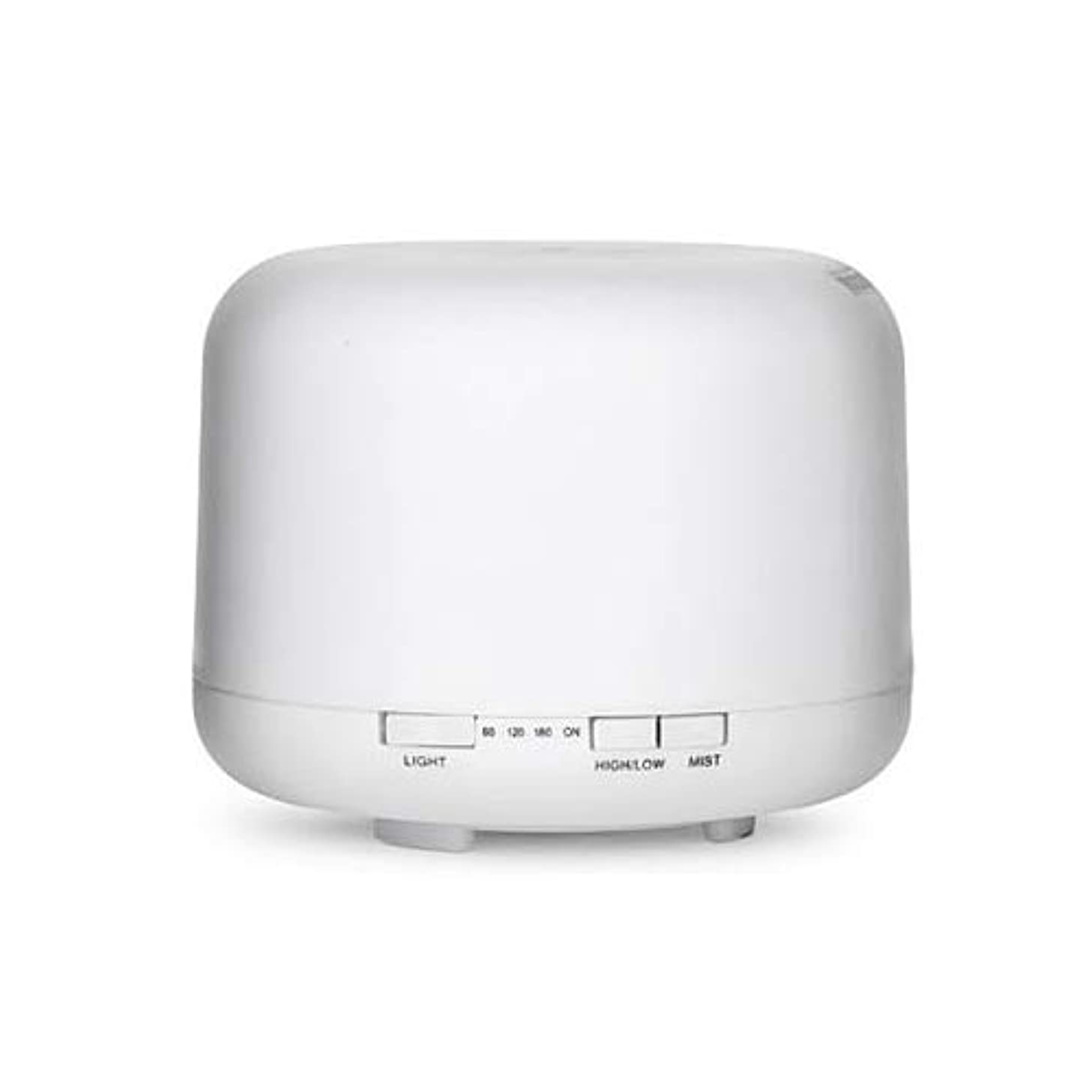 サービス証言する政治的WONDER LABO》超音波加湿器 ミスト アロマディフューザー 加湿器 気化式 乾燥対策 7色変換LED付き 卓上 オフィス 空焚き防止 静音 500ml