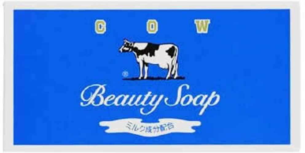 医薬品公式ヨーロッパカウブランド石鹸 青箱85g*3個