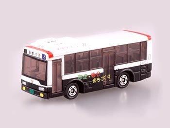 トミカ はたらくトミカ コレクション Vo.2/函館バス 交通安全ラッピングバス (パトカーバス)