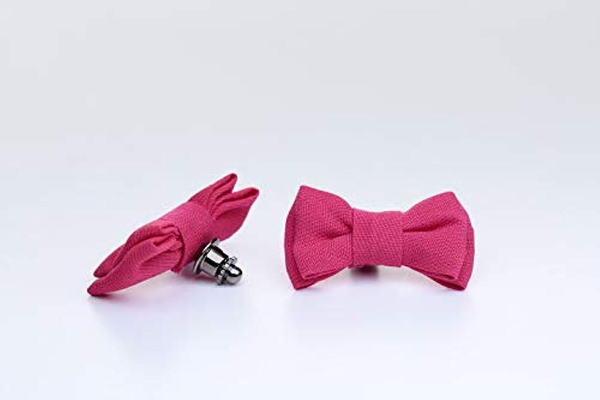ヘアファイバ通行人アロマピンズ リボン #2(ピンク)