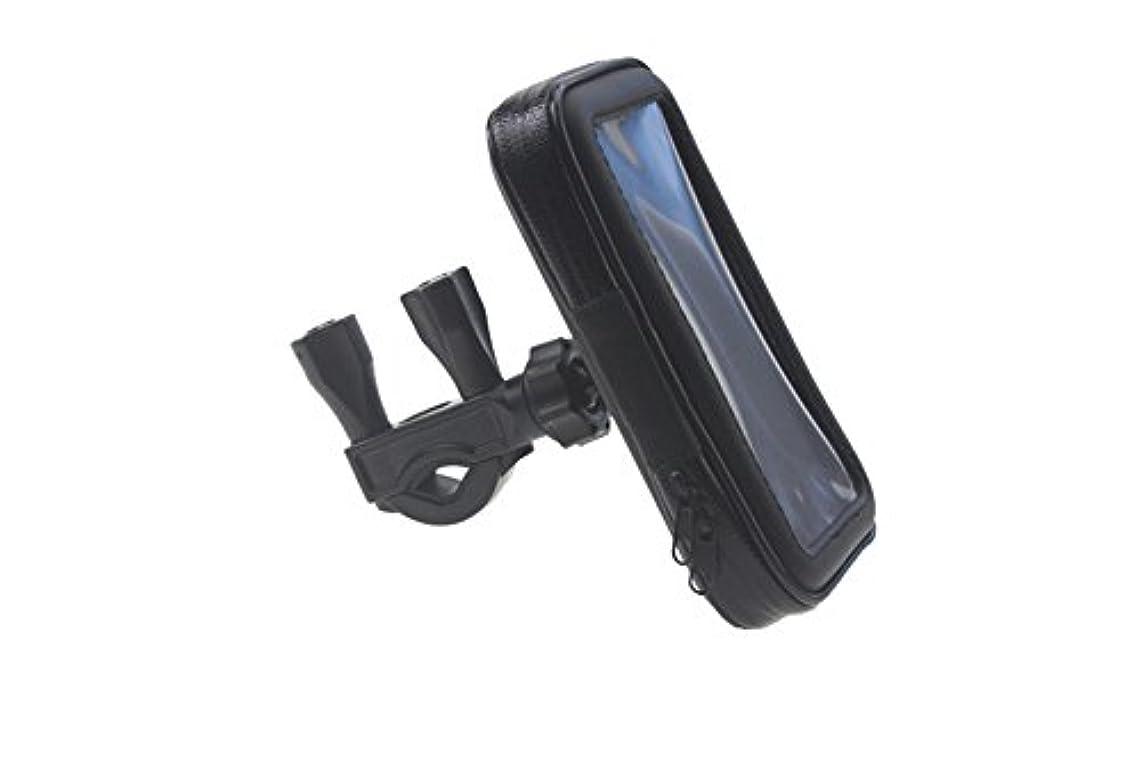 挽く提案する中止しますRuikey 自転車ホルダー バイクスマホホルダー 防水 強力固定 360度回転 iPhone6plusに対応