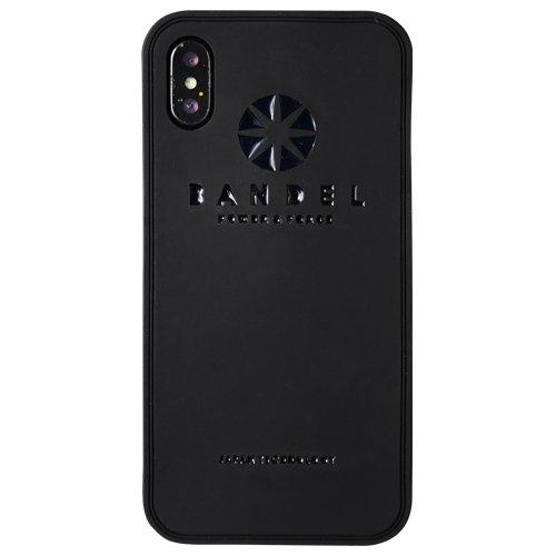 バンデル(BANDEL) ロゴ iPhone X専用 シリコ...