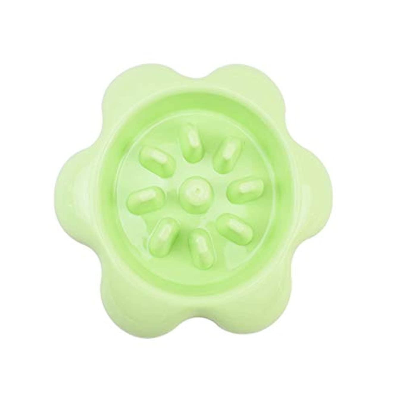 ほかに抑圧リルXian ペットボウルスローフィーディングボウル - 滑り止めパズルボール - 滑り止めペットスローフードフィーディング食器 - 耐久性のある抗窒息ヘルシーデザインボール(3色使用可能) Easy to Clean Non-Skid Bowls for Dogs (Color : Green)