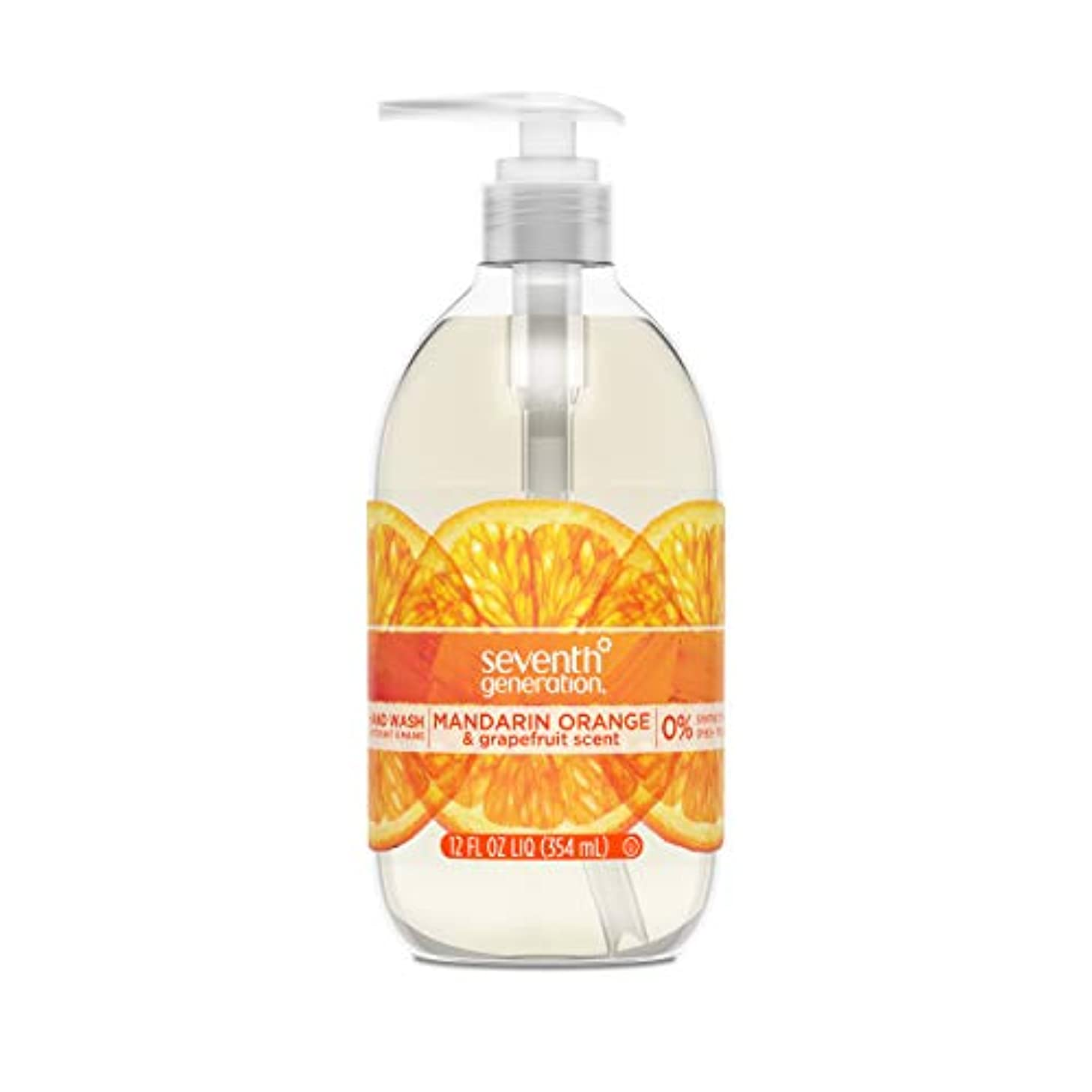 なしで部族処分したSeventh Generation Hand Wash, Mandarin Orange & Grapefruit , 12 Fl Oz by Seventh Generation
