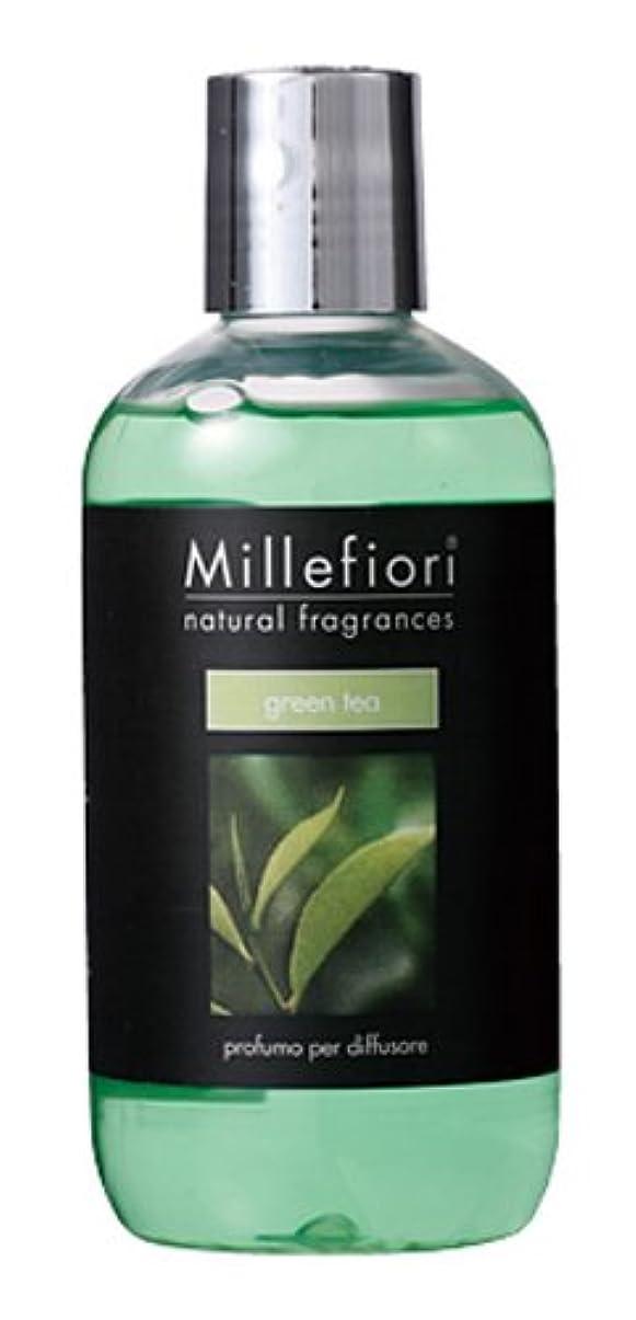 カリング気質凍るMillefiori NATURAL FRAGRANCES フレグランスディフューザー専用リフィル 250ml グリーンティー DIF-25-011