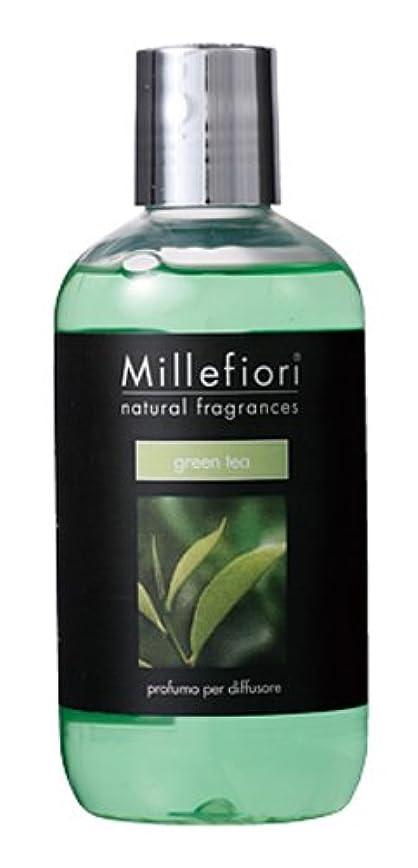 今後スピーカー意義Millefiori NATURAL FRAGRANCES フレグランスディフューザー専用リフィル 250ml グリーンティー DIF-25-011
