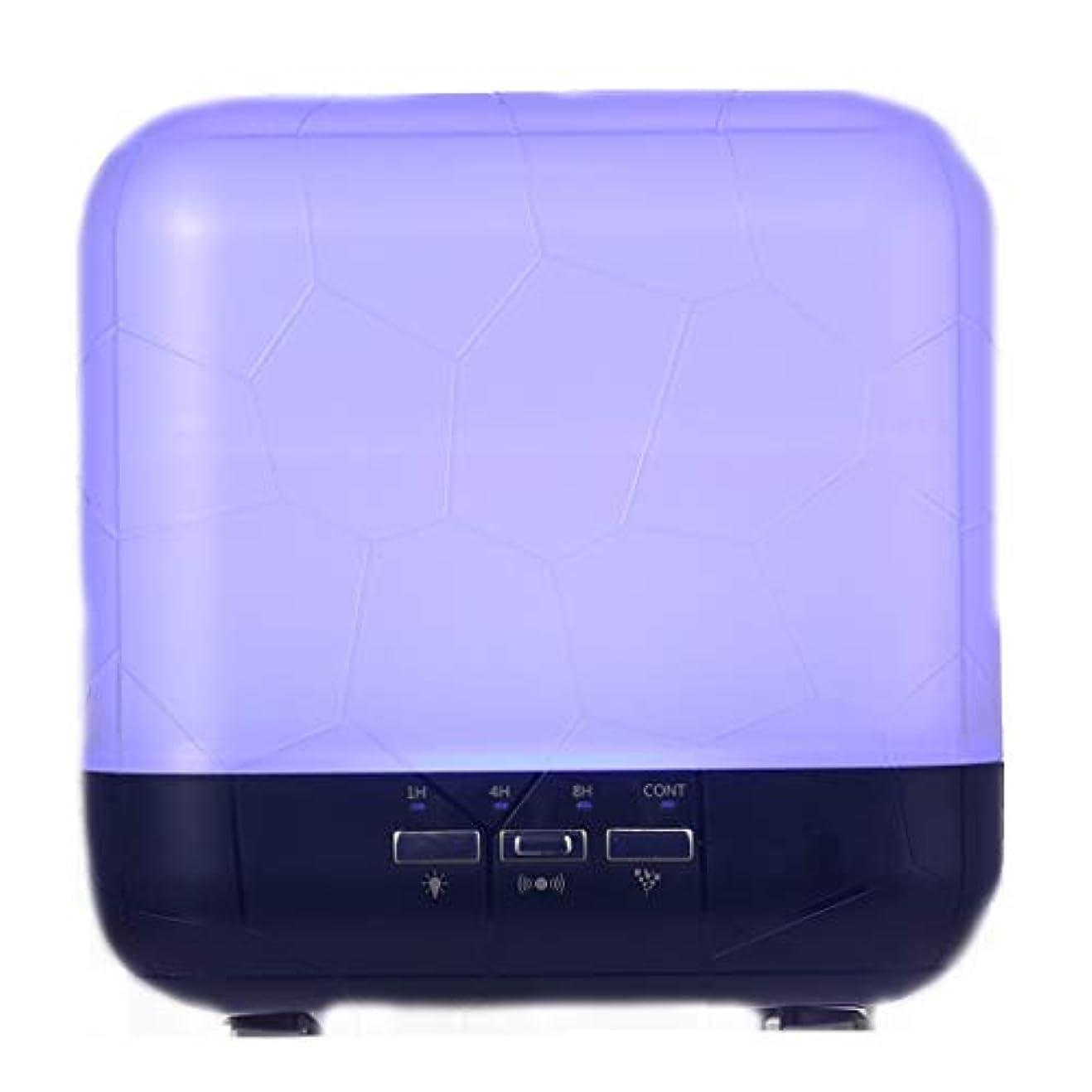 貧困作動する本物の拡散器、調節可能なミストモード、寝室/オフィス/旅行のためのアロマセラピー機械を離れた自動のHomeweeks 1000ml多彩な精油の拡散器 (Color : Purple)