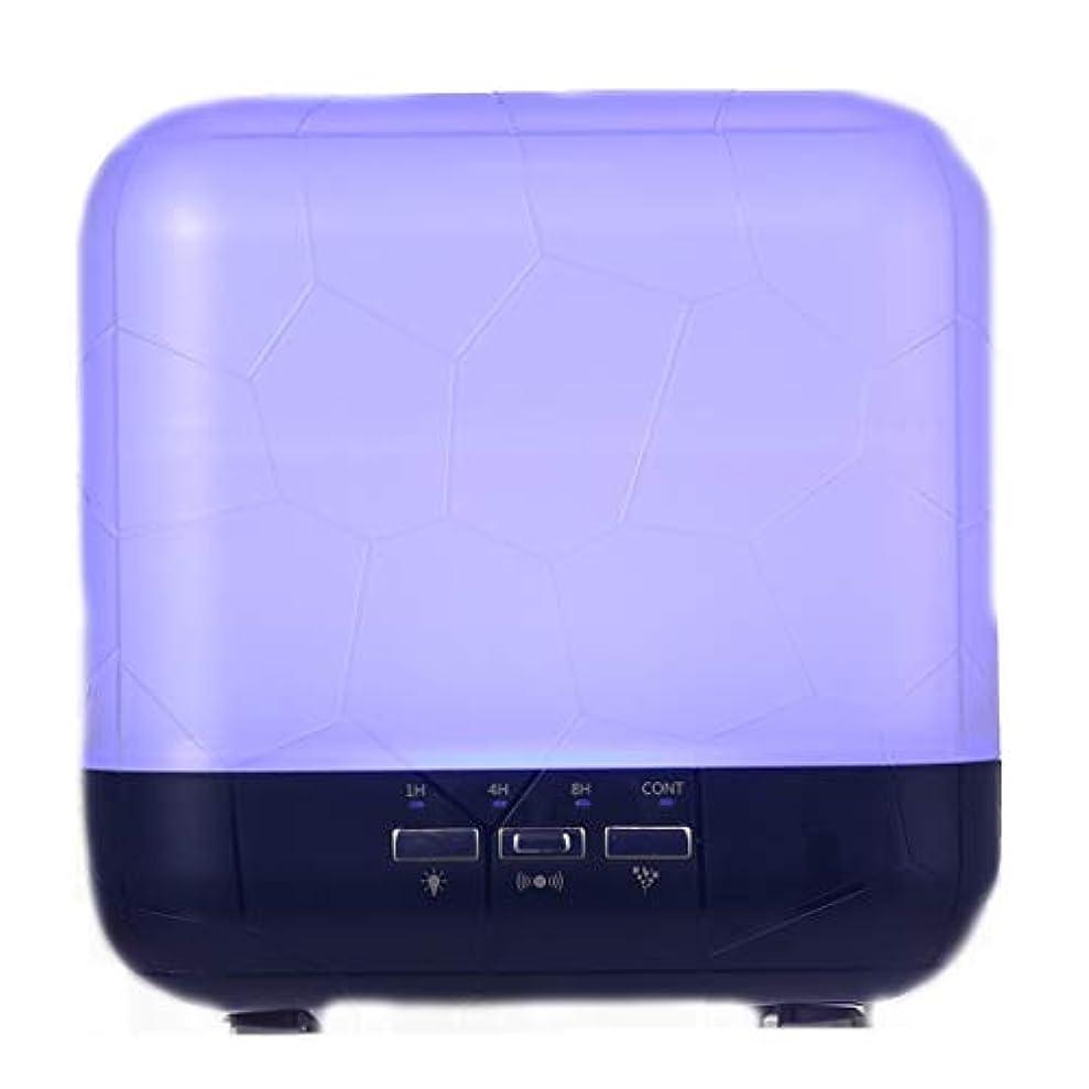 裏切り者派手荒涼とした拡散器、調節可能なミストモード、寝室/オフィス/旅行のためのアロマセラピー機械を離れた自動のHomeweeks 1000ml多彩な精油の拡散器 (Color : Purple)