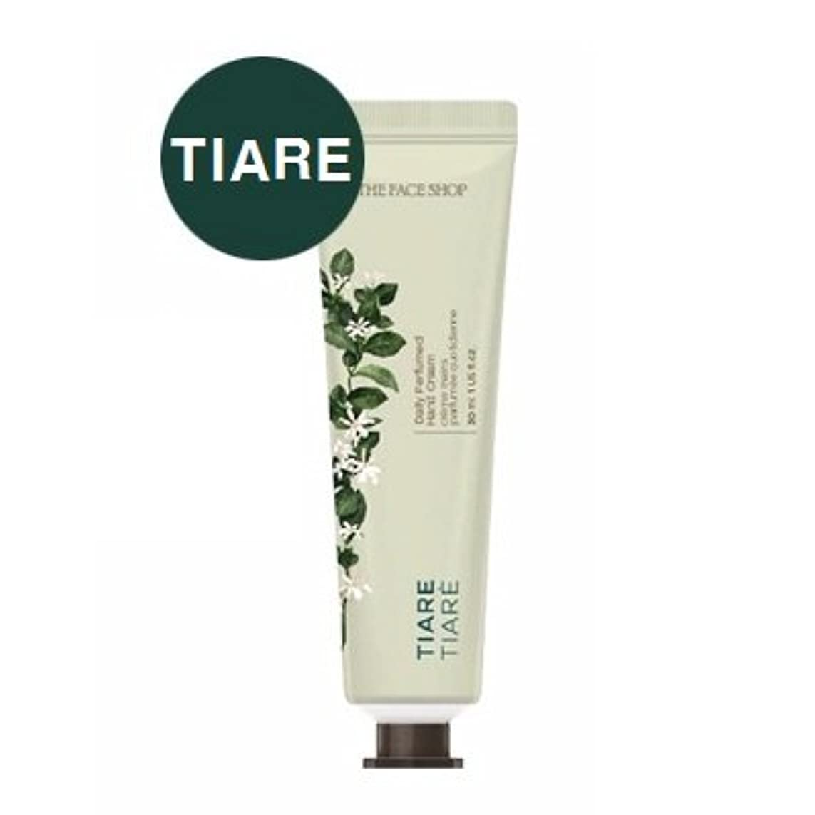 汚染通訳著名なTHE FACE SHOP Daily Perfume Hand Cream [02. Tiare] ザフェイスショップ デイリーパフュームハンドクリーム [02. ティアレ] [new] [並行輸入品]