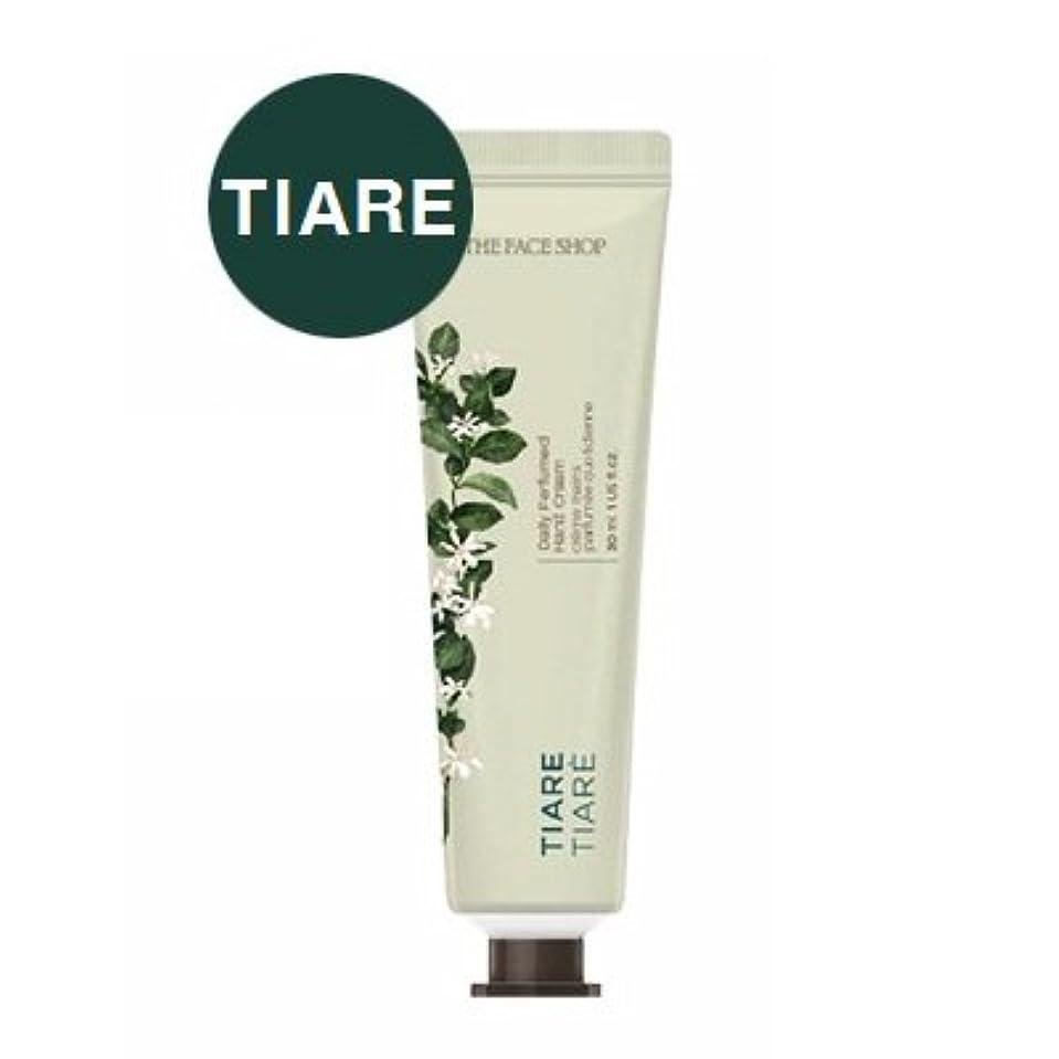 耳単なる解くTHE FACE SHOP Daily Perfume Hand Cream [02. Tiare] ザフェイスショップ デイリーパフュームハンドクリーム [02. ティアレ] [new] [並行輸入品]