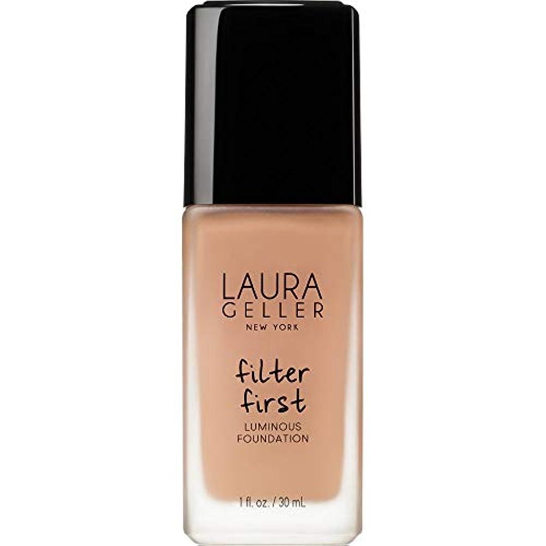 もっとダーツ失望させる[Laura Geller] ローラ?ゲラーは、最初の発光基盤の30ミリリットル黄金のメディアをフィルタリング - Laura Geller Filter First Luminous Foundation 30ml Golden...