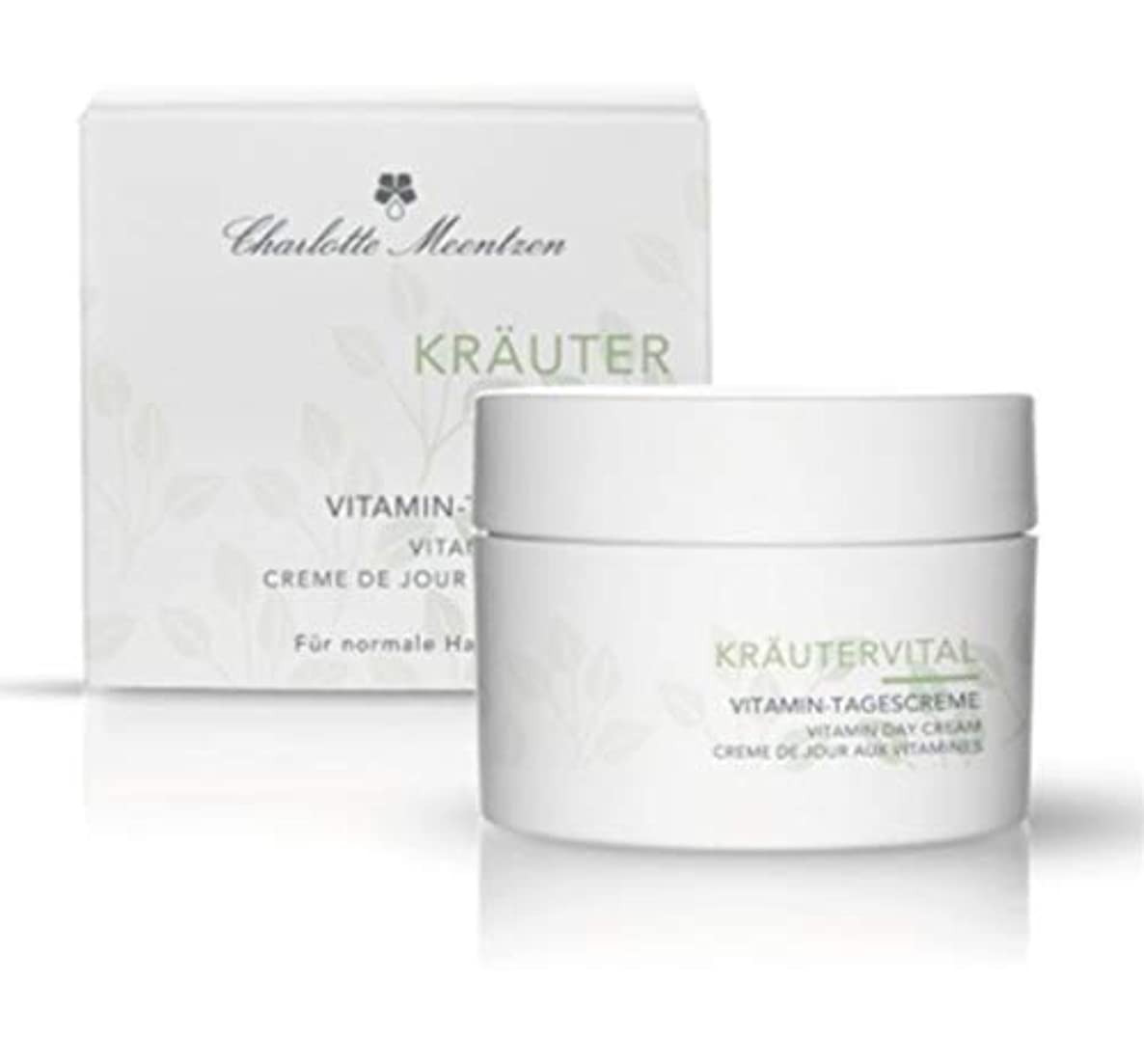 ええ戸棚行商人Charlotte Meentzen Krautervital Vitamin Day Cream 50ml c (50ml) [並行輸入品]