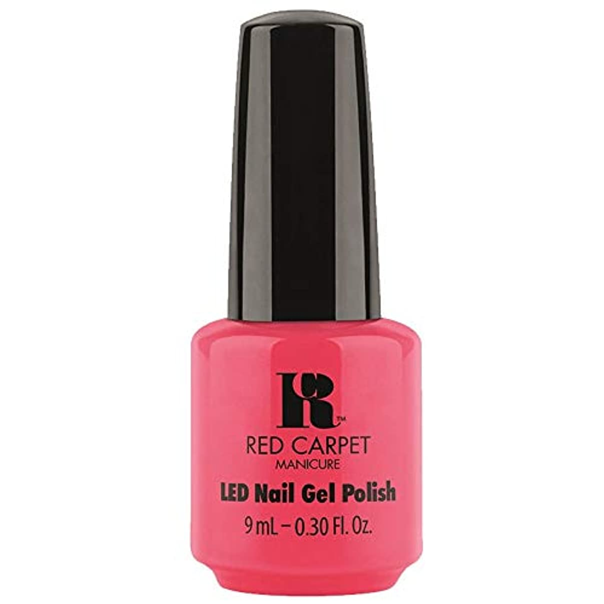 相手スパークバスRed Carpet Manicure - LED Nail Gel Polish - Sun Kiss & Tell - 0.3oz / 9ml
