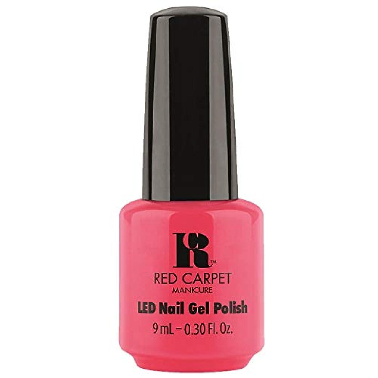 部適切に増強Red Carpet Manicure - LED Nail Gel Polish - Sun Kiss & Tell - 0.3oz / 9ml