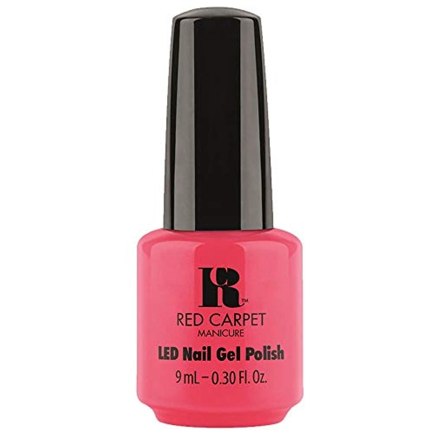 スリーブ取り替える親愛なRed Carpet Manicure - LED Nail Gel Polish - Sun Kiss & Tell - 0.3oz / 9ml