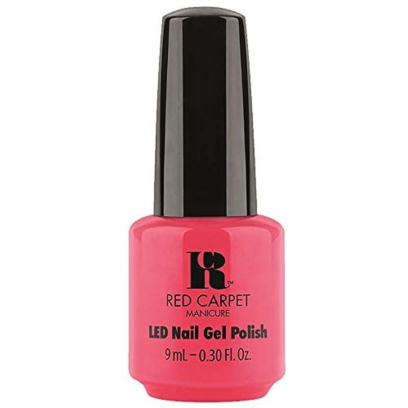 サンダル補償テレビ局Red Carpet Manicure - LED Nail Gel Polish - Sun Kiss & Tell - 0.3oz / 9ml