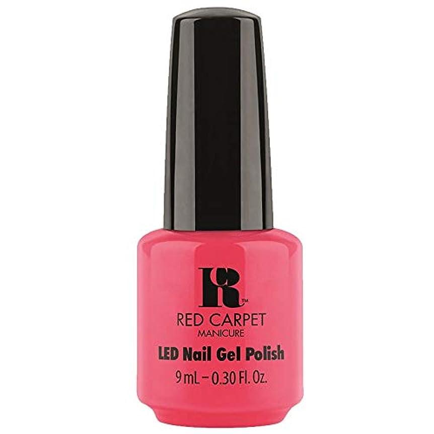 性別財政征服するRed Carpet Manicure - LED Nail Gel Polish - Sun Kiss & Tell - 0.3oz / 9ml