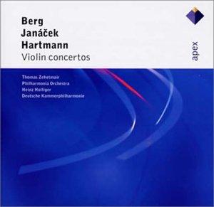 ベルク、ヤナーチェク、ハルトマン:ヴァイオリン協奏曲
