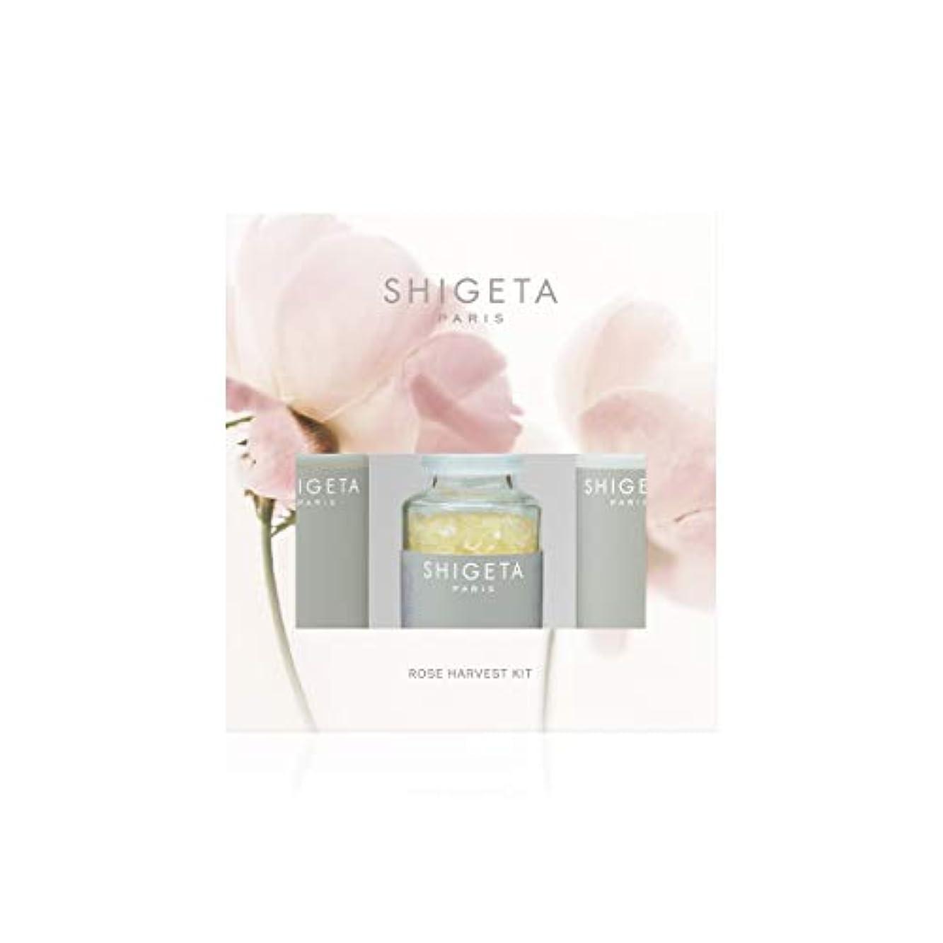 海里上陸蒸し器SHIGETA(シゲタ) Rose Harvest Kit ボディクリーム ローズ セット 50ml×2 + 50g