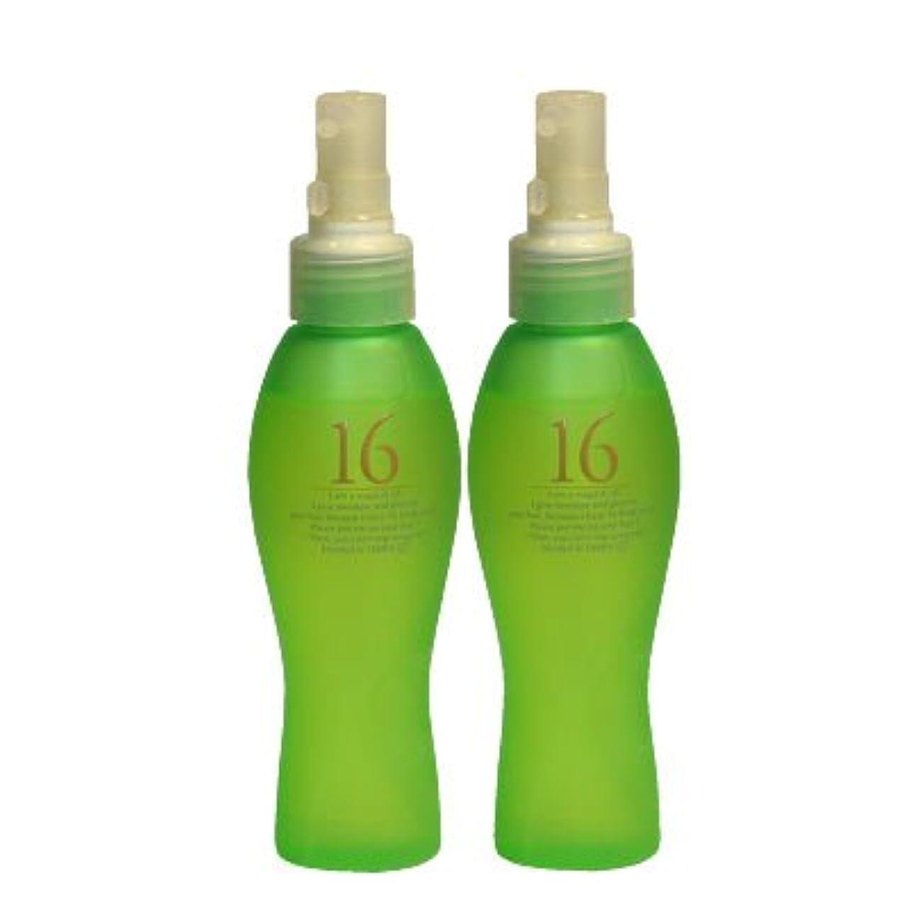 費用汚すのためにヘアオイル【ハホニコ】十六油 120ml【2個セット】