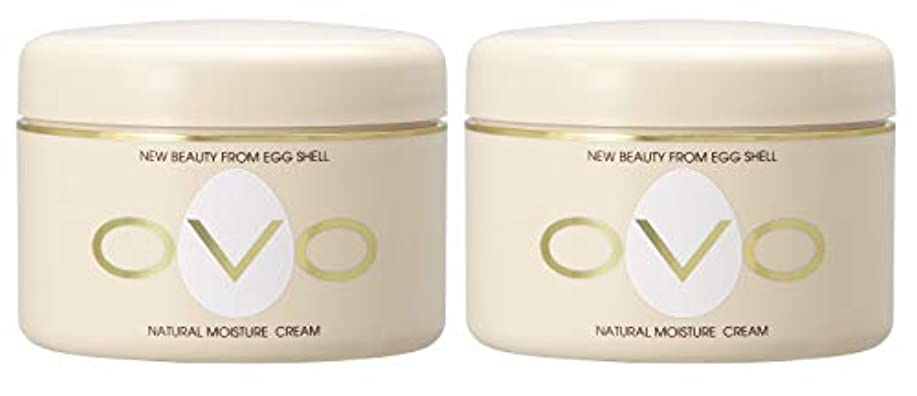 オセアニアロゴアラートovo オーヴォ ナチュラルモイスチュアクリーム 卵殻エキス配合 天然素材由来の低刺激スキンケア 150g 2個セット