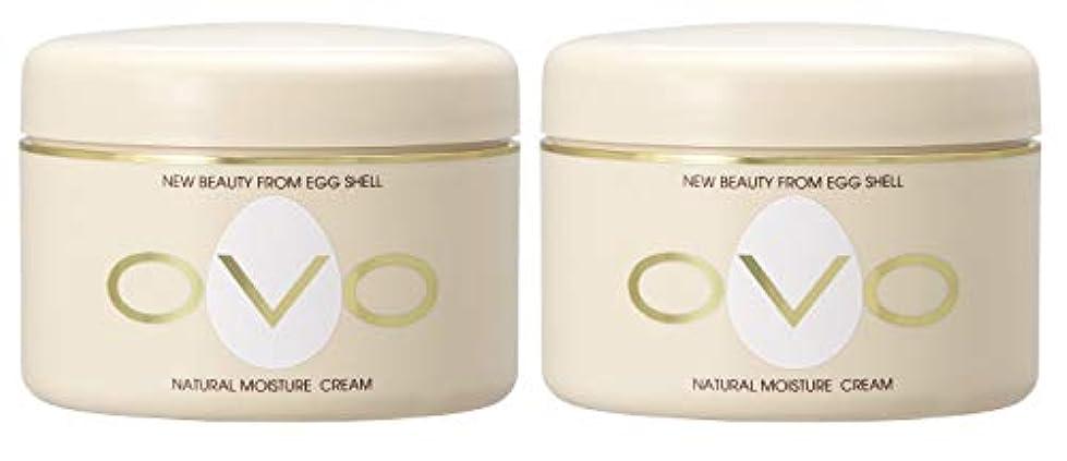 未払いカテゴリーゼロovo オーヴォ ナチュラルモイスチュアクリーム 卵殻エキス配合 天然素材由来の低刺激スキンケア 150g 2個セット