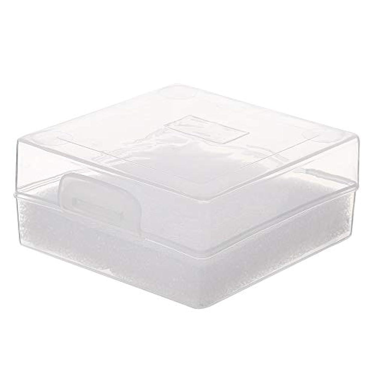 かかわらずアイデアセールDecdeal 100穴 研削ヘッドボックス ネイルドリルビットホルダー ネイル製品用ネイルツールストレージコンパクト便利な透明
