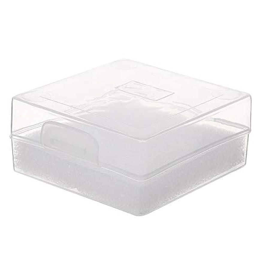 夫婦締めるグリルDecdeal 100穴 研削ヘッドボックス ネイルドリルビットホルダー ネイル製品用ネイルツールストレージコンパクト便利な透明