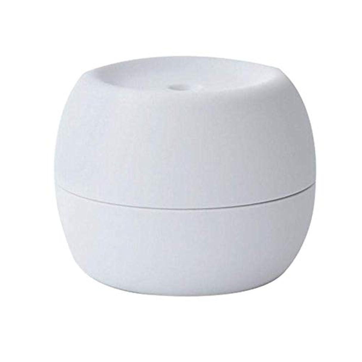 スキニー忠実にソケットSOTCE アロマディフューザー加湿器超音波霧化技術満足のいく解決策美しい装飾湿潤環境品質の製品 (Color : Gray)