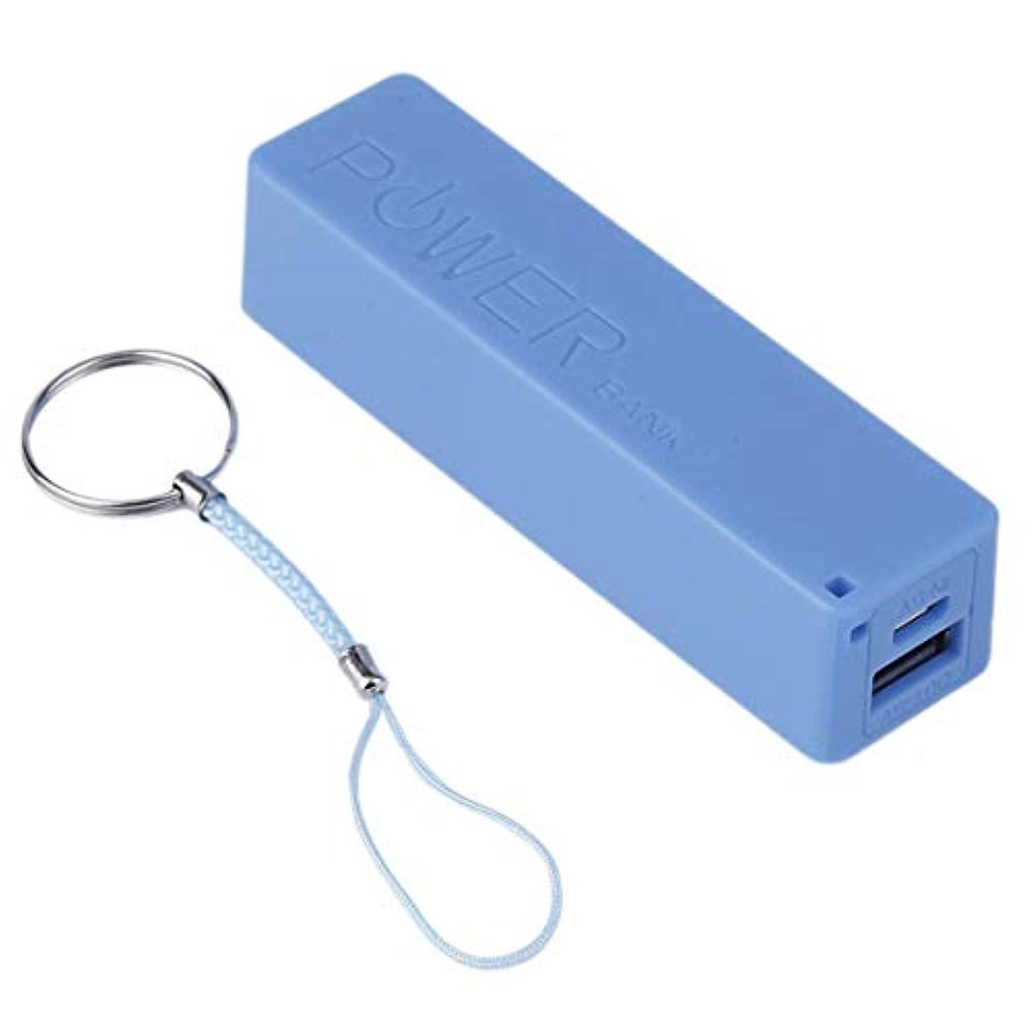 焦がす傾斜悪意のあるTivollyff 力銀行箱2600MAHの携帯用サイズ1 * 18650電池の外的な力銀行箱