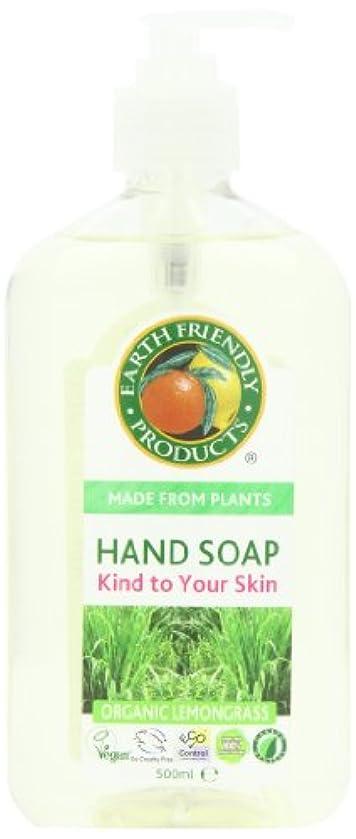 Earth Friendly Products, Hand Soap, Organic Lemongrass, 17 fl oz (500 ml)