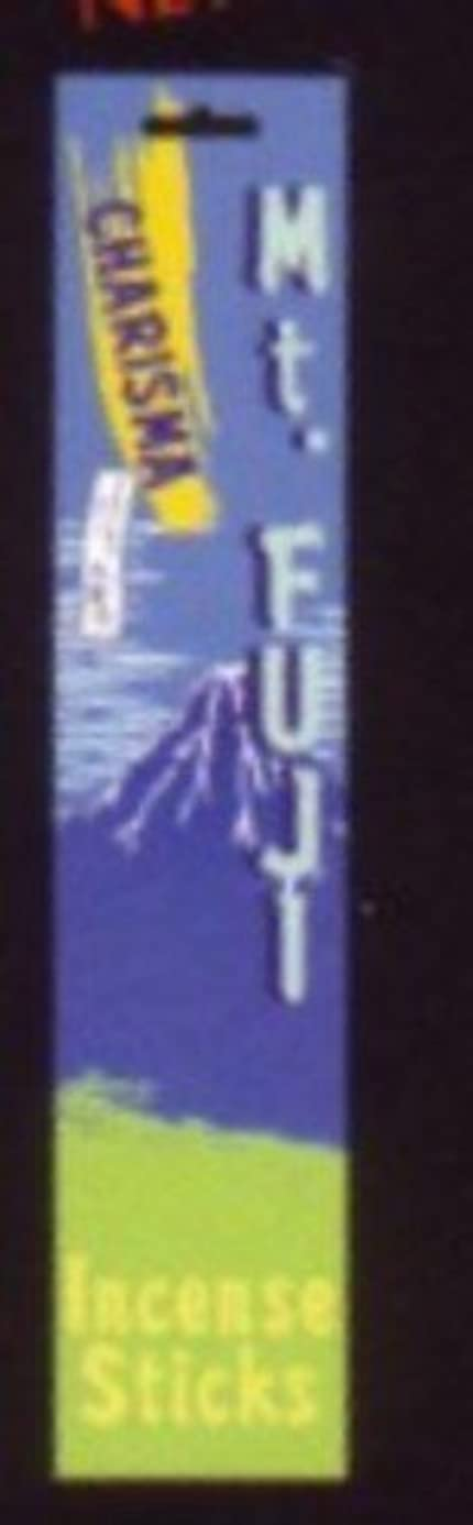 許容なにコンピューターゲームをプレイするカリスマインセンススティック Mt.FUJI(マウントフジ)+ソフトストーン香立