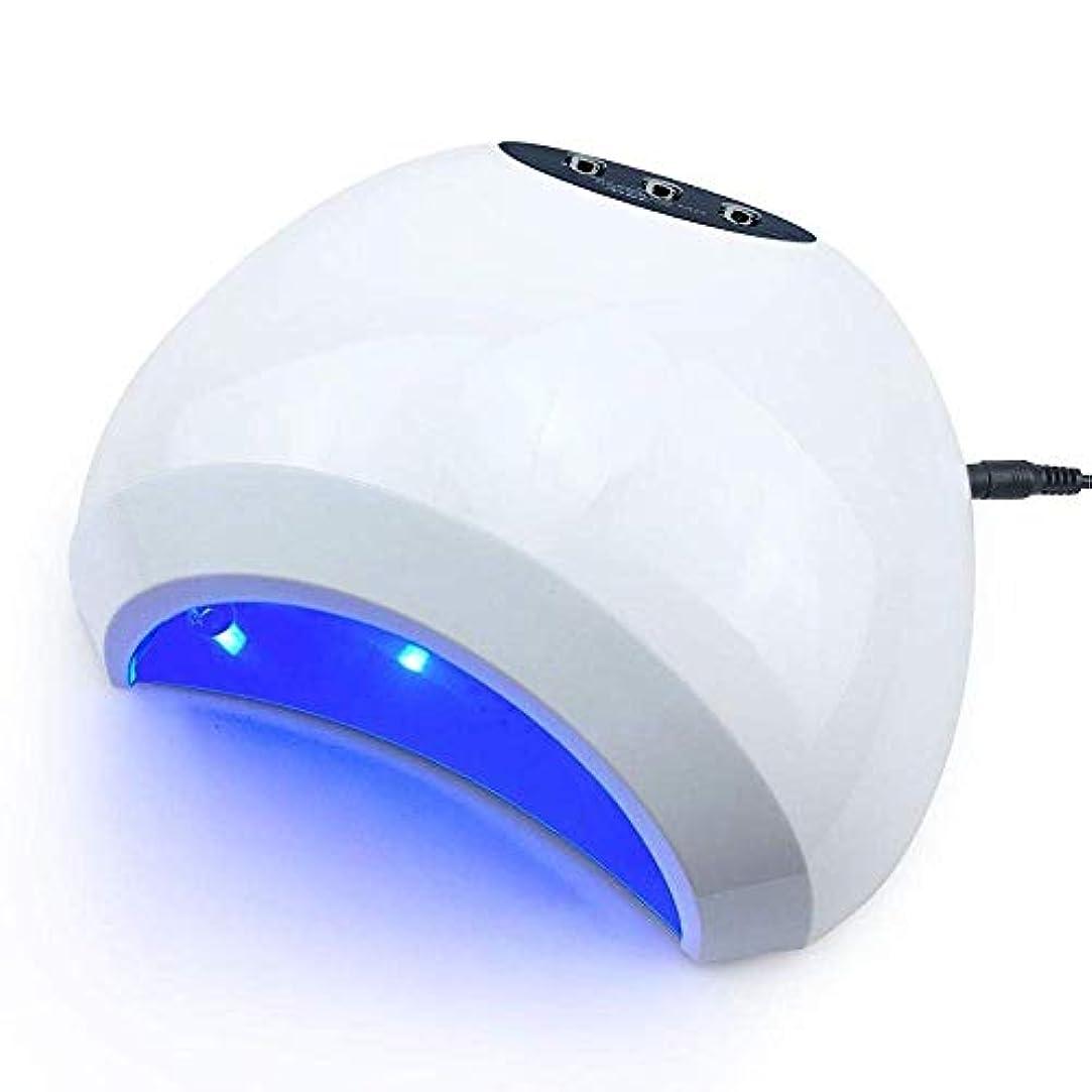 環境感情道を作るネイルドライヤー48ワットプロフェッショナルネイルジェルuv ledランプネイルドライヤーキュア用uvジェルネイルポリッシュネイルアートツール太陽ledライト