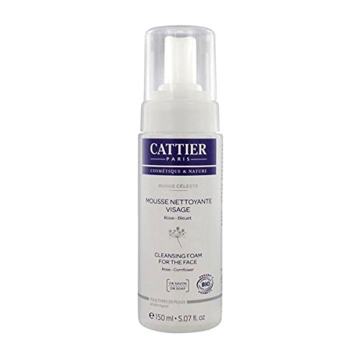 公然と組み合わせる彼Cattier Cleansing Foam For The Face 150ml [並行輸入品]