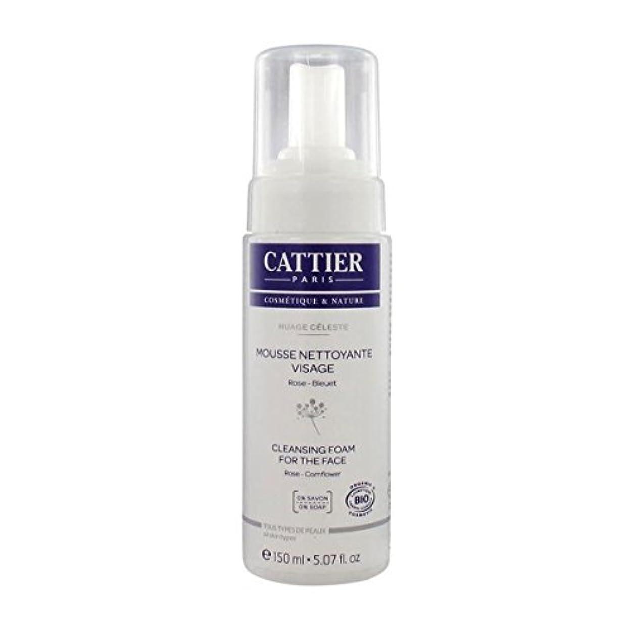 本気暖かさ適応的Cattier Cleansing Foam For The Face 150ml [並行輸入品]