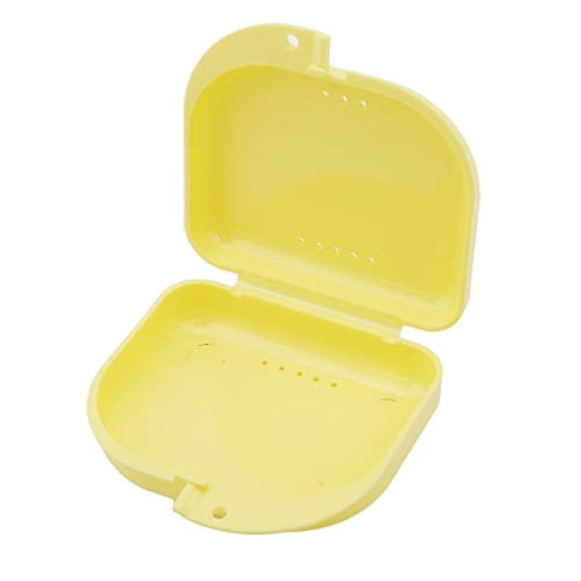 徒歩で中断皮BEE&BLUE 義歯ケース 義歯収納 義歯ボックス 義歯収納ケース 入れ歯のポケット 義歯収納容器 ミニ