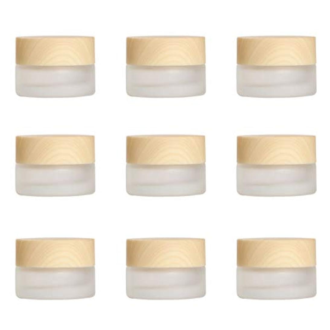 ターゲット膨らませるアクセシブルYiteng スポイト遮光瓶 アロマオイル 精油 香水やアロマの保存 小分け用 遮光瓶 保存 詰替え ガラス製 9本セット (艶消しガラス5g)