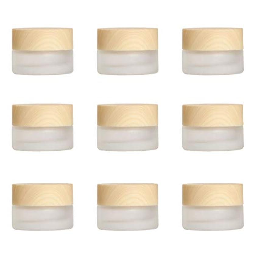 捧げる芝生テスピアンYiteng スポイト遮光瓶 アロマオイル 精油 香水やアロマの保存 小分け用 遮光瓶 保存 詰替え ガラス製 9本セット (艶消しガラス20g)