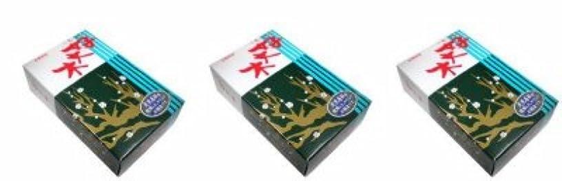 流す活性化ブラウン梅栄堂 好文木 短寸大型バラ詰3箱セット