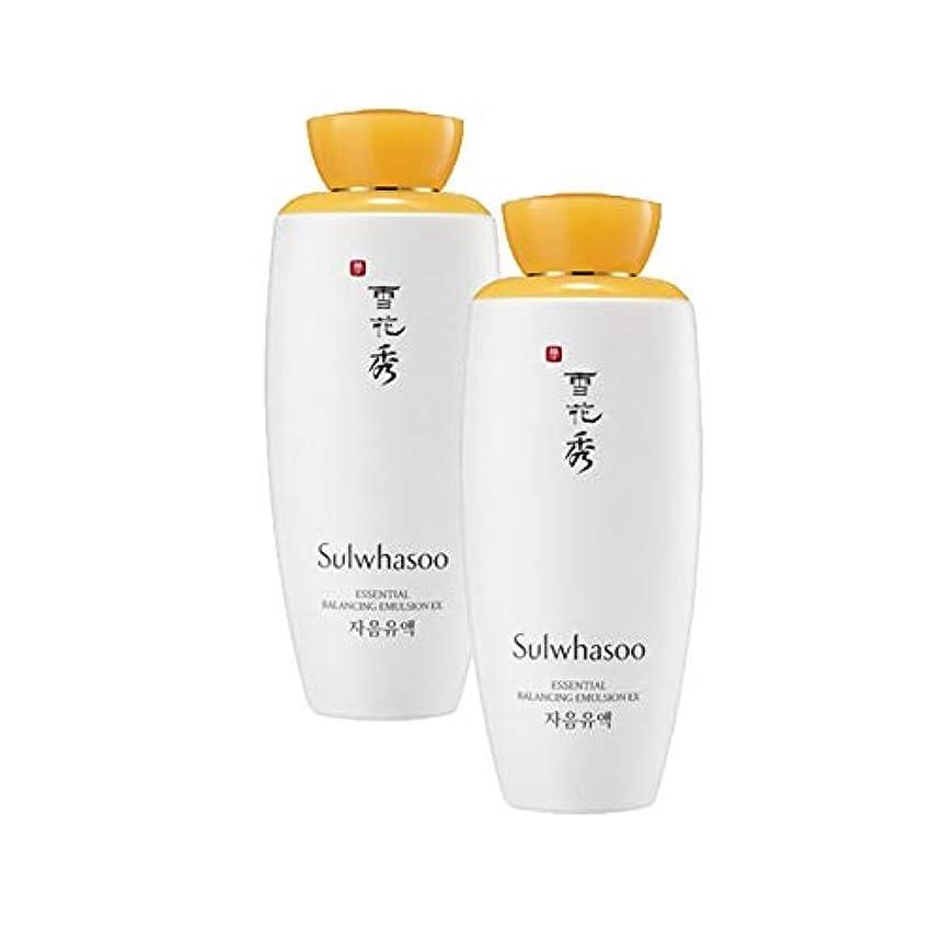 背景ショット根絶する雪花秀エッセンシャルバランシングエマルジョンEX 125mlx2本セット韓国コスメ、Sulwhasoo Essential Balancing Emulsion EX 125ml x 2ea Set Korean Cosmetics...