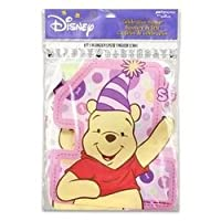 Pooh's First Birthday Girl Banner by Factory Card and Party Outlet